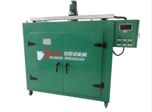 mattress machine spring heat treating oven